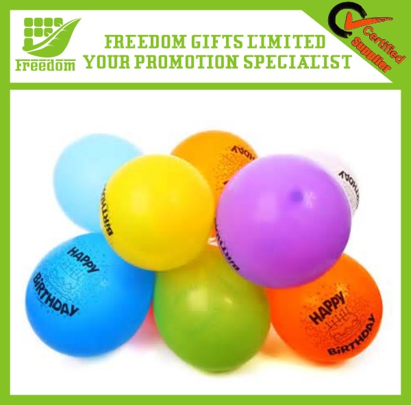 Logo Branded Eco-friendly Latex Free Balloons