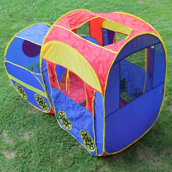 13198040-50.39 x 25.98 x 34.65″ Children Games House Tent Mixed Colors