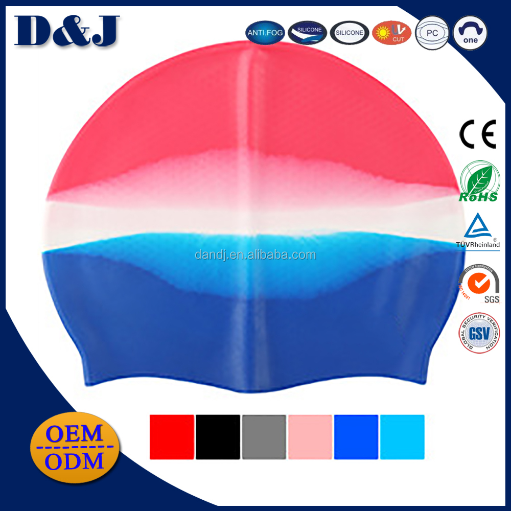 Cheap And High Quality Non-slip 100% Silicoen Swimming Caps