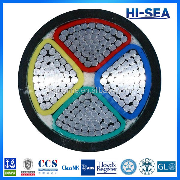 Aluminum Conductor PVC Sheathed Electric Cable