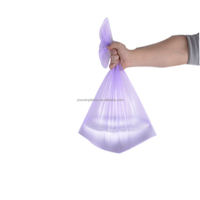 45cm*50cm PE flat mouth trash bag(We are a 17-year old manufacturer)