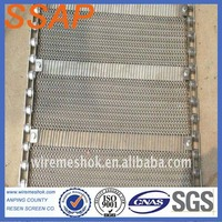 food grade stainless steel conveyor wire mesh belt