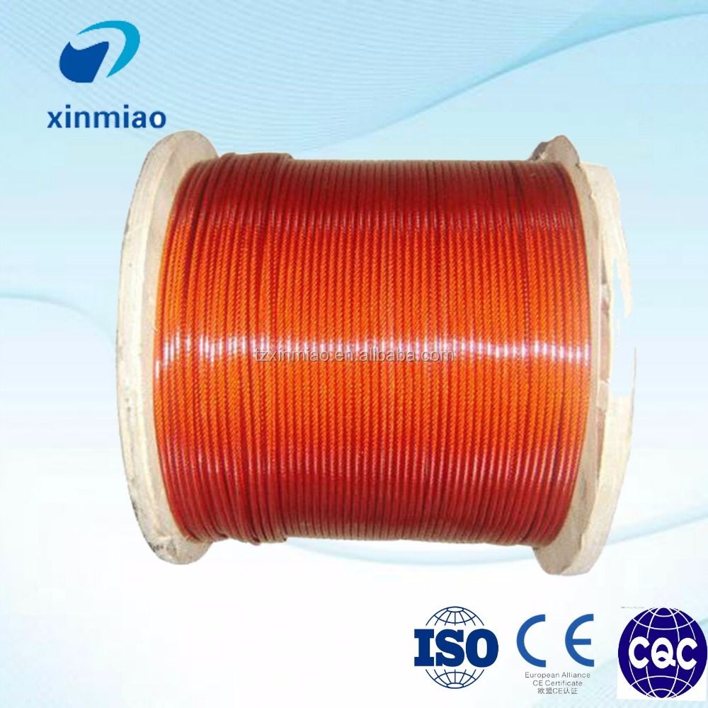 zinc plated grade 2 titanium wire rope