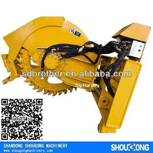 Skid Steer Loader attachment Disk Trencher