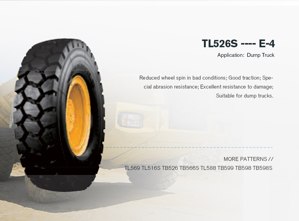 Off Road Tire Triangle Radial Rigid Dump Truck Tire