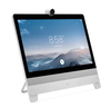 Cisco DX80 All-in-One Desktop Collaboration with life-size video on a 23-inch touch screen