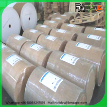 Recycled brown kraft jumbol rolls for making paper bag used for packaging in supermarkets