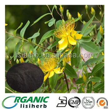 LISI supply High Quality St John's wort / Saint-John's-Wort extract powder Hyperoside with competitive price