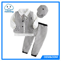 2014 Newest baby boy dress clothes christmas clothes