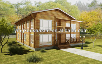Canadian wood garden house prefabricated homes