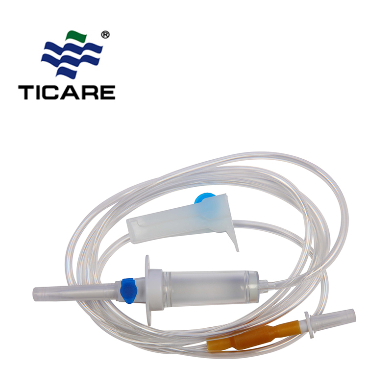 Disposable Infusion Giving Set With Burette