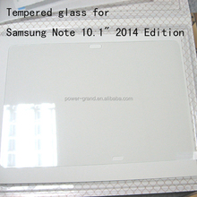 "Top quality 9H Tempered Glass screen protector for Samsung Galaxy Note 10.1"" 2014 Edition P600 P601"