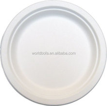 Wholesale Biodegradable sugarcane disposable paper plates