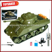 RC sherman tank