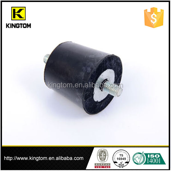 Vibration isolation threaded rubber isolation mount