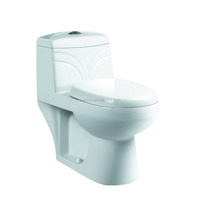 Cheap one piece siphonic comfort height toilet SC184
