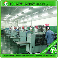 lithium polymer battery technology/equipment/material for battery production line