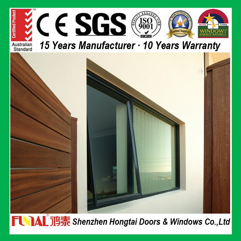 2017 new factory hot sale european style aluminum window
