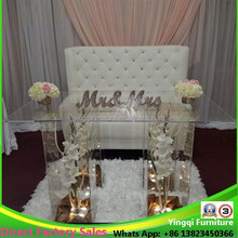 Cheap Clear Acrylic Wedding Table for Sale