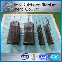 Titanium Basket for copper