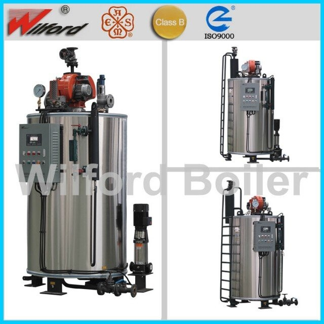 Oil Fired Boiler With Water Tube Structure Vertical Boiler