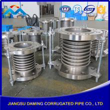 metal model or rubber pipe cast metal stainless steel expansion joint compensator with Tie Rods