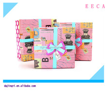Handmade luxury chocolate/cookie strawberry boxes with ribbon