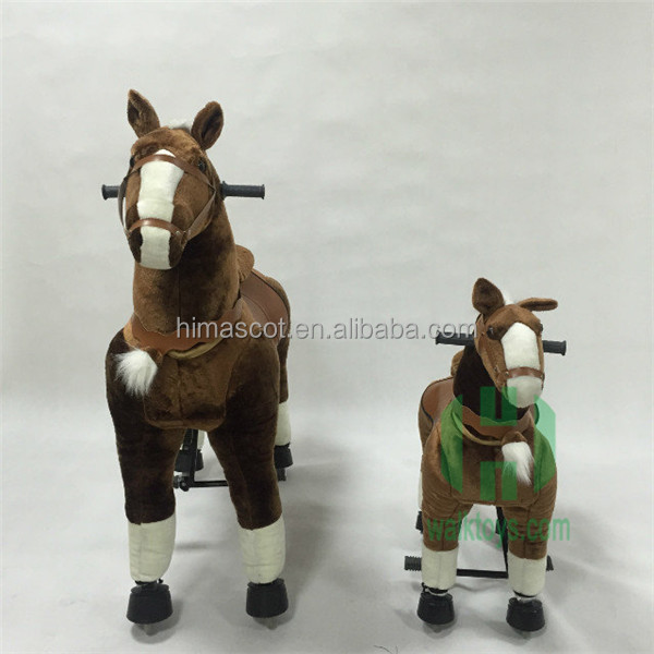 Happy Island mechanical walking horse,mechanical horse for sale for kids man women