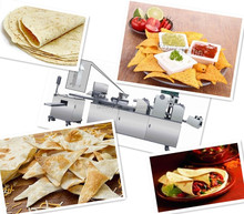Professional commercial flour tortilla making/tortilla bread machine