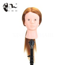 XISHIXIU Hair Salon Hairdressing Cut Mannequin synthetic Training Head