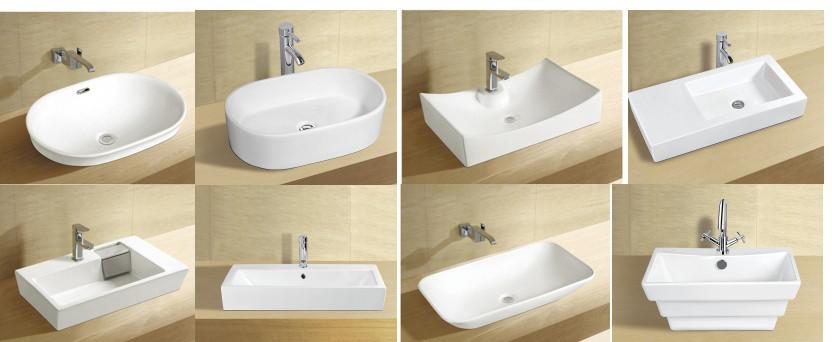 Cb 45006 china proveedor arriba dise ado una pieza lavabo for Proveedores de ceramica