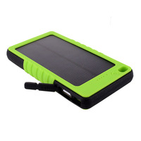 8000mAh high quality solar mobile phone charger for smartphones , cheap price mobile solar charger for tablet pc
