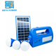 Mobile small energy complete portable solar home panel power solar system