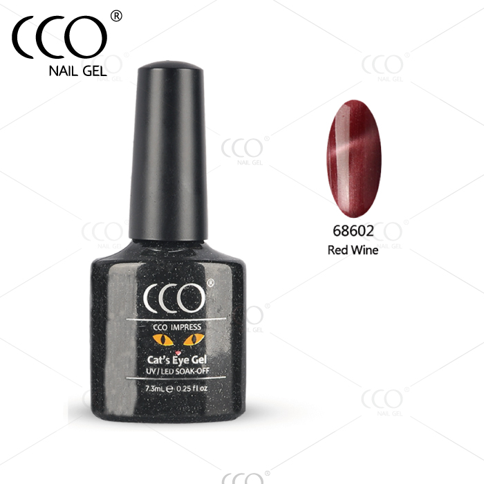 CCO wholesale price supplies free samples cat eye camouflage for nail gel
