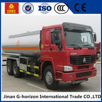 SINO TRUK oil transportation tank truck fuel tank truck for sale