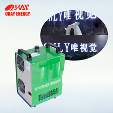 ce certification brown gas generator acrylic flame edge polishing machine