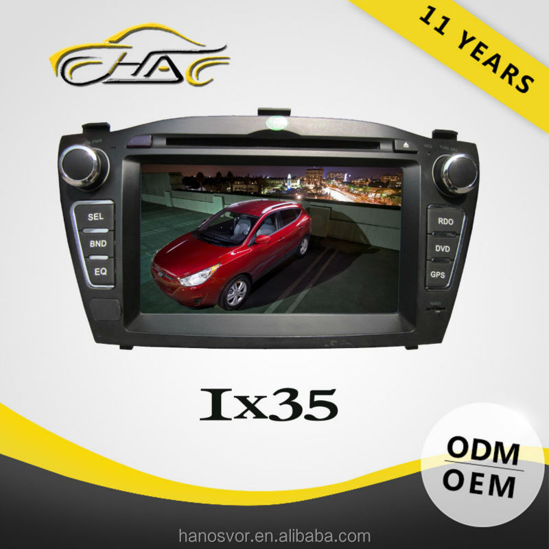 In dash car multimedia gps navigation system for hyundai tucson gps dvd