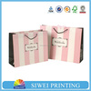 2015 New Design Handmade Recycle cheap making paper gift bag for perfume