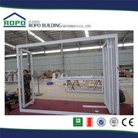 Hot Selling Good Reputation High Quality frameless glass folding door