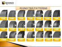 RHINO TYRE RHINO KING Truck Tyre with Improved formula 2015