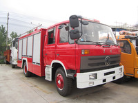 Fire truck hot selling! Dongfeng 145 water tank 5000L to 7000L 4*2 water tank fire truck / fire fighting truck