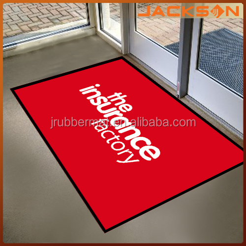 commercial anti slip and anti dust welcome carpet