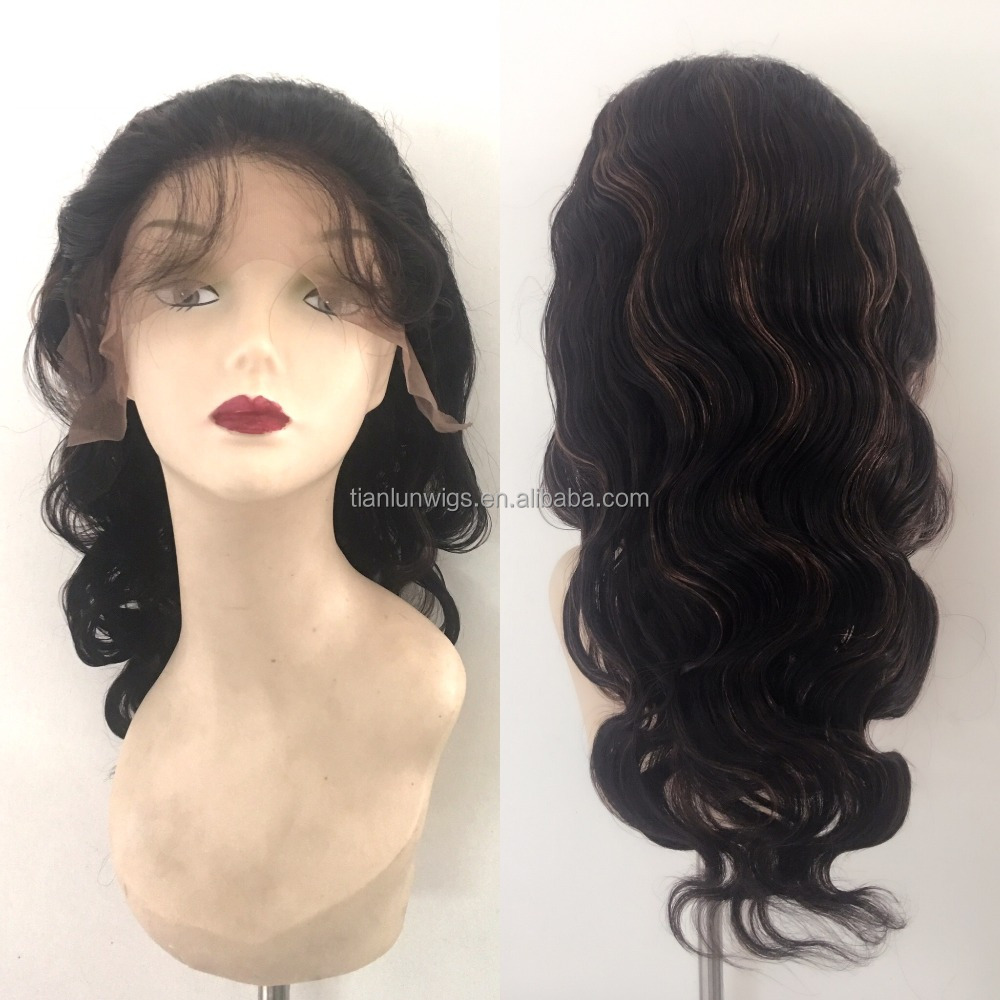 Cheap brazilian hair full lace wig injection silk base lace wigs, wholesale lace front wigs