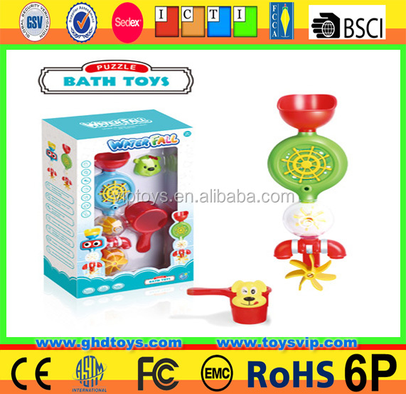 bathroom baby shower baby plastic indoor bath pipe water filled squirt water toy