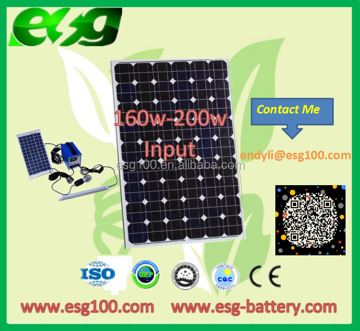 160w-200W top quality price per watt monocrystalline silicon solar panel for wholesales