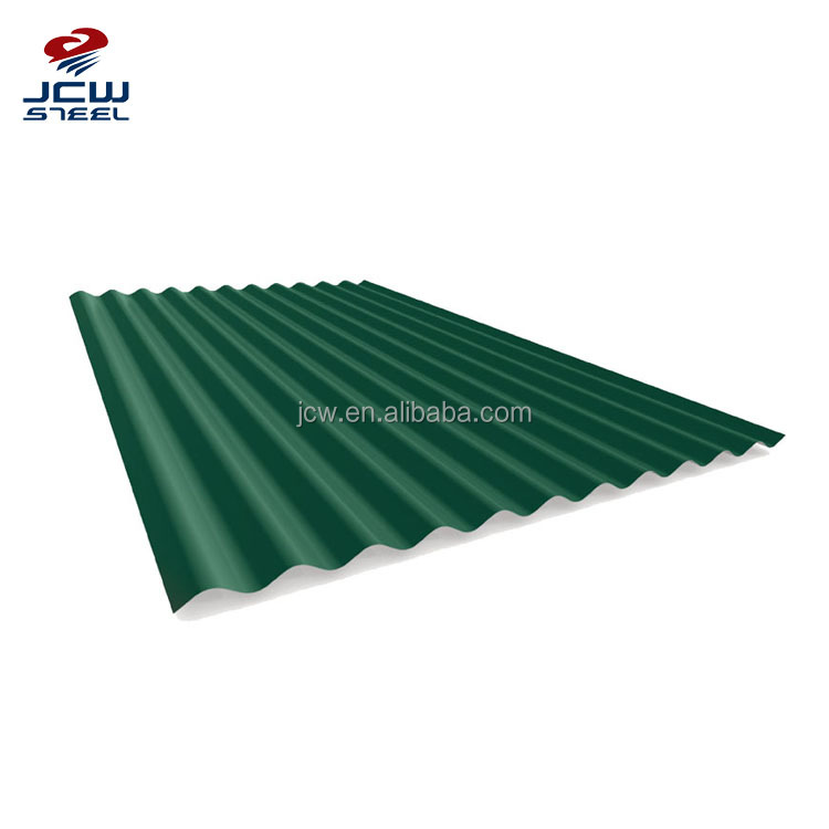 Color Galvanized Roofing Tiles Types Wave Sheet Trapezoid Roof Sheet