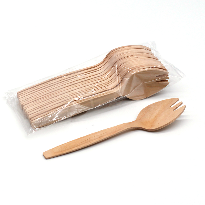 Hot <strong>Sell</strong> 5.5 Inch Wholesale Bamboo Spork