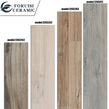 fo rui si manufacturer supply wood look porcelain tile italian floor tile