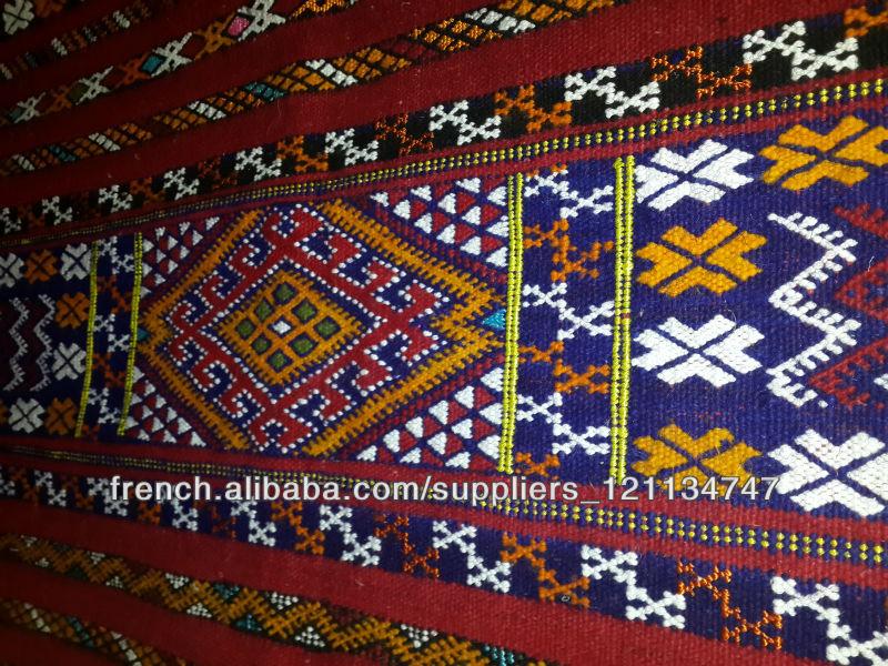 Grossiste Tapis Marocain Tapis Kilim Berber Marocain 215cm X 116cm