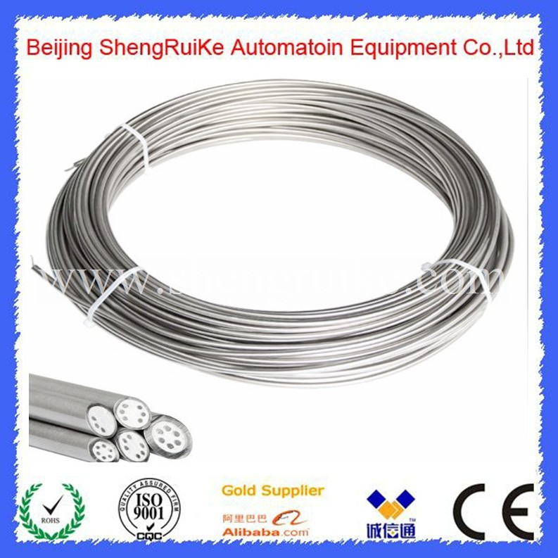 Mineral insulated cable multi core cable for temperature sensor